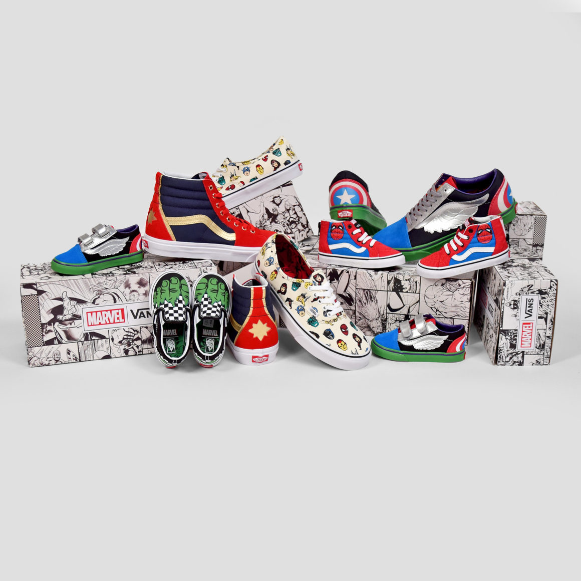 vans disney mechant