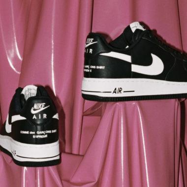 sale retailer f8b40 06613 Supreme x Comme des Garçons x Nike Air Force 1
