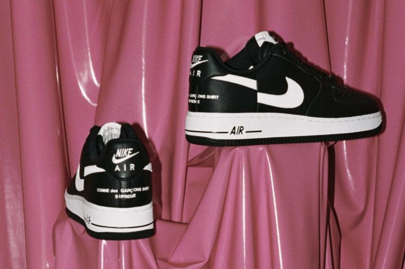 Nike Air Force 1 Supreme x Comme de Garçons