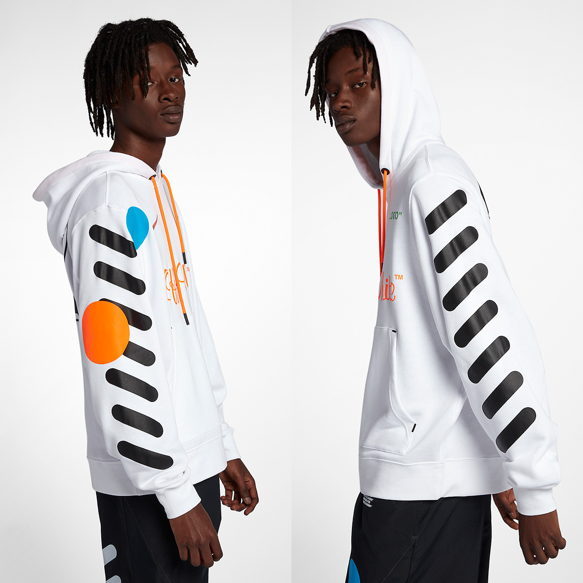 la qualité d'abord nouveau style de luxuriant dans la conception Collection Off-White x Nike «Football Mon Amour»