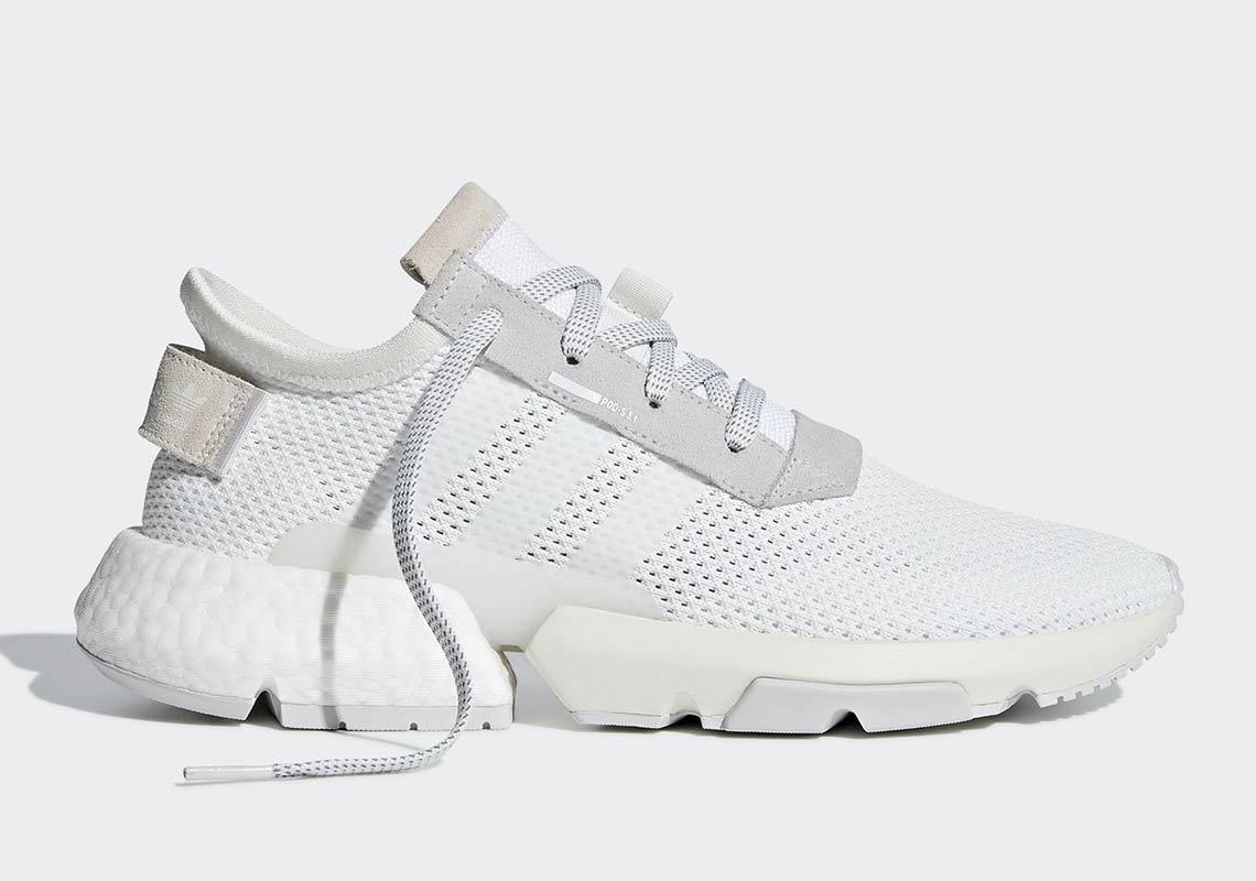 adidas POD s3.1 « Triple White »