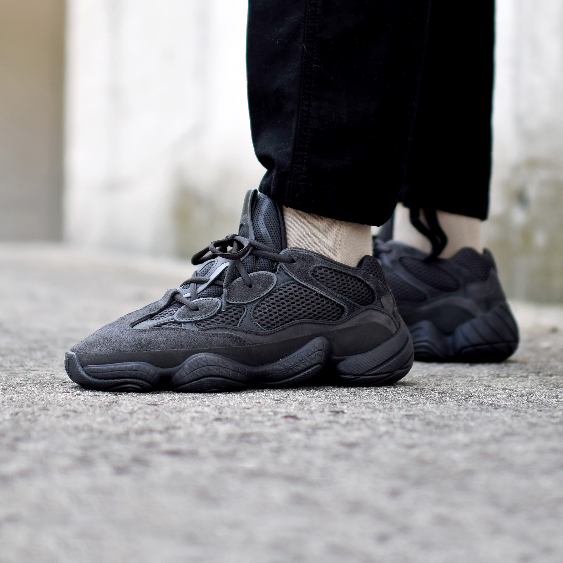save off 6b7f0 a41cc Yeezy 500 Utility Black - Sneakers.fr
