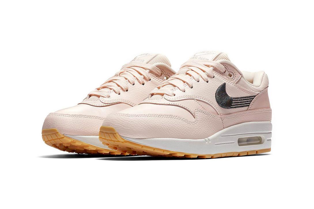 temperament shoes good super cute Nike Air Max 1 Premium Wmns « Guava Ice/Gum »