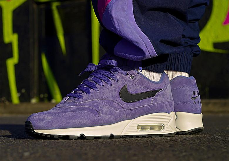 nouveau style b23d8 33e56 Nike Air Max 90/1 « Purple Suede »