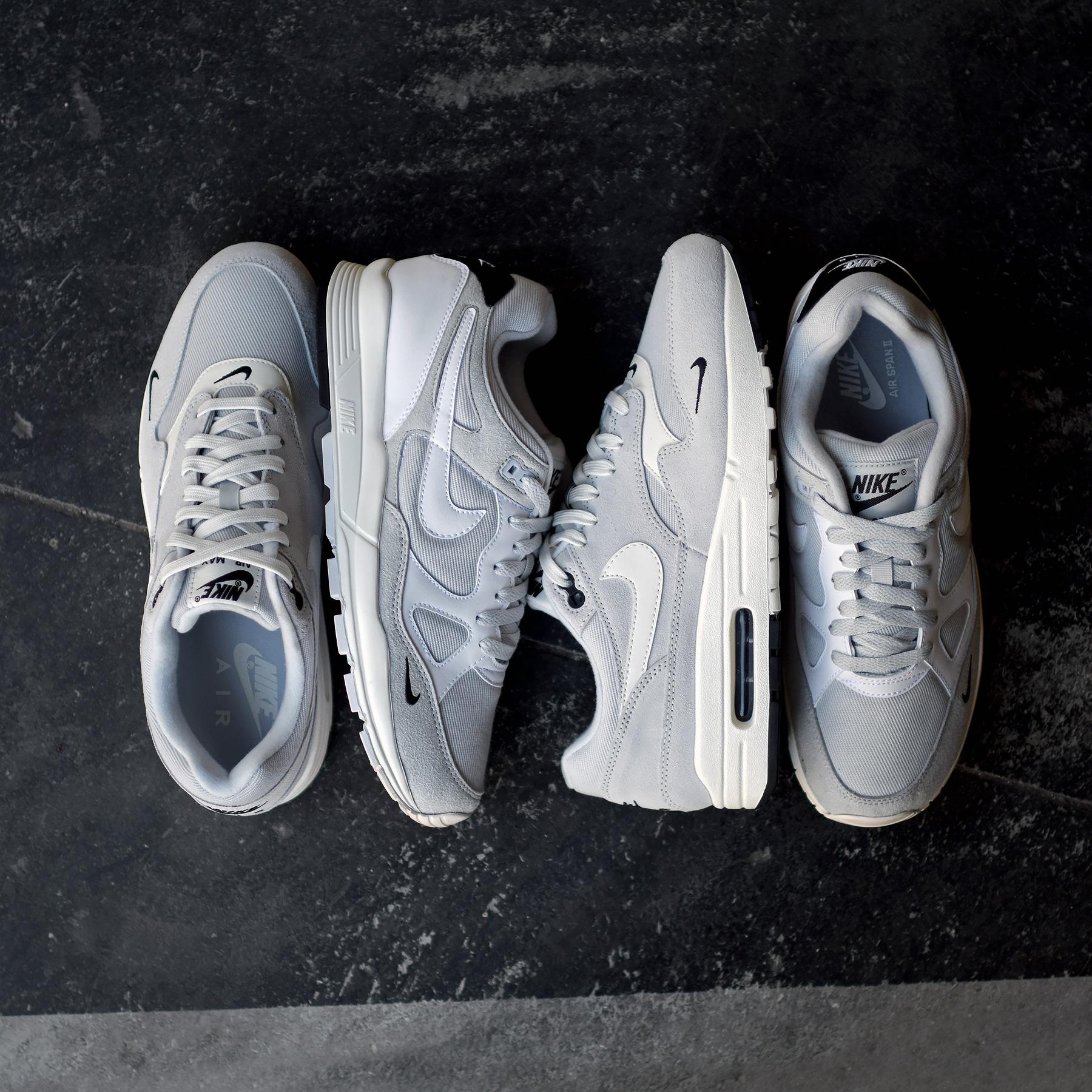 Nike Air Span & Air Max 1 Mini Swoosh Pack