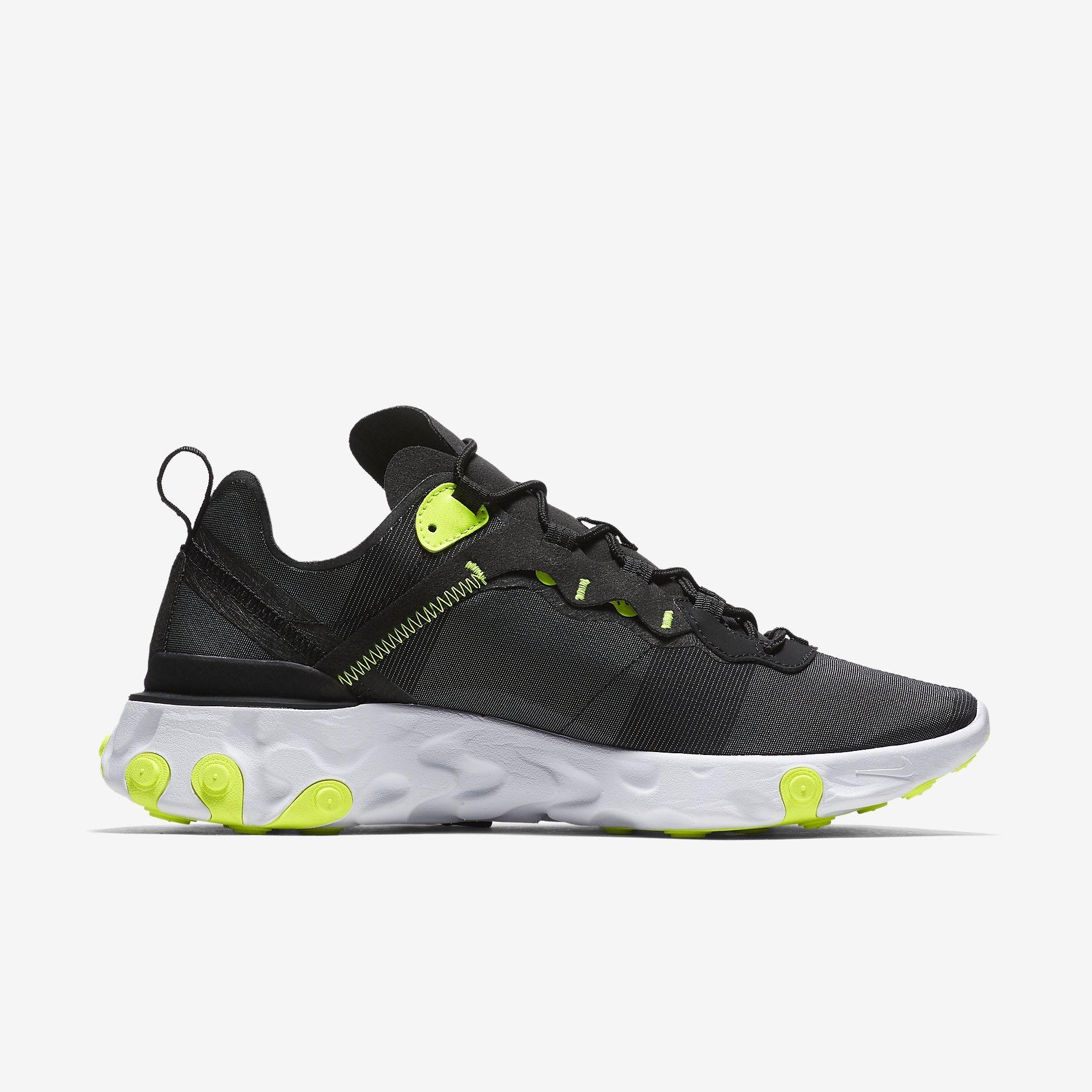 aac66f597754 La Nike React Element 55, la nouvelle sneaker à semelle React qui s'apprête  à voir le jour.