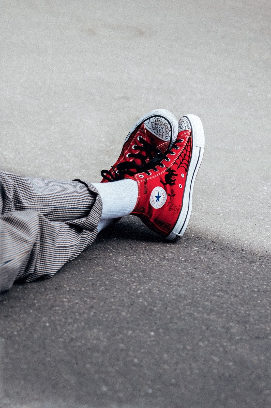 582c0ff87c74 Le skateur Sean Pablo a imaginé deux Converse Chuck Taylor All-Star  revisitées