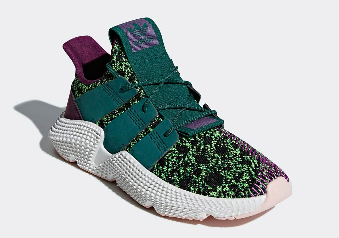 Dragon Ball Z x adidas Prophere « Cell » et Deerupt « Son