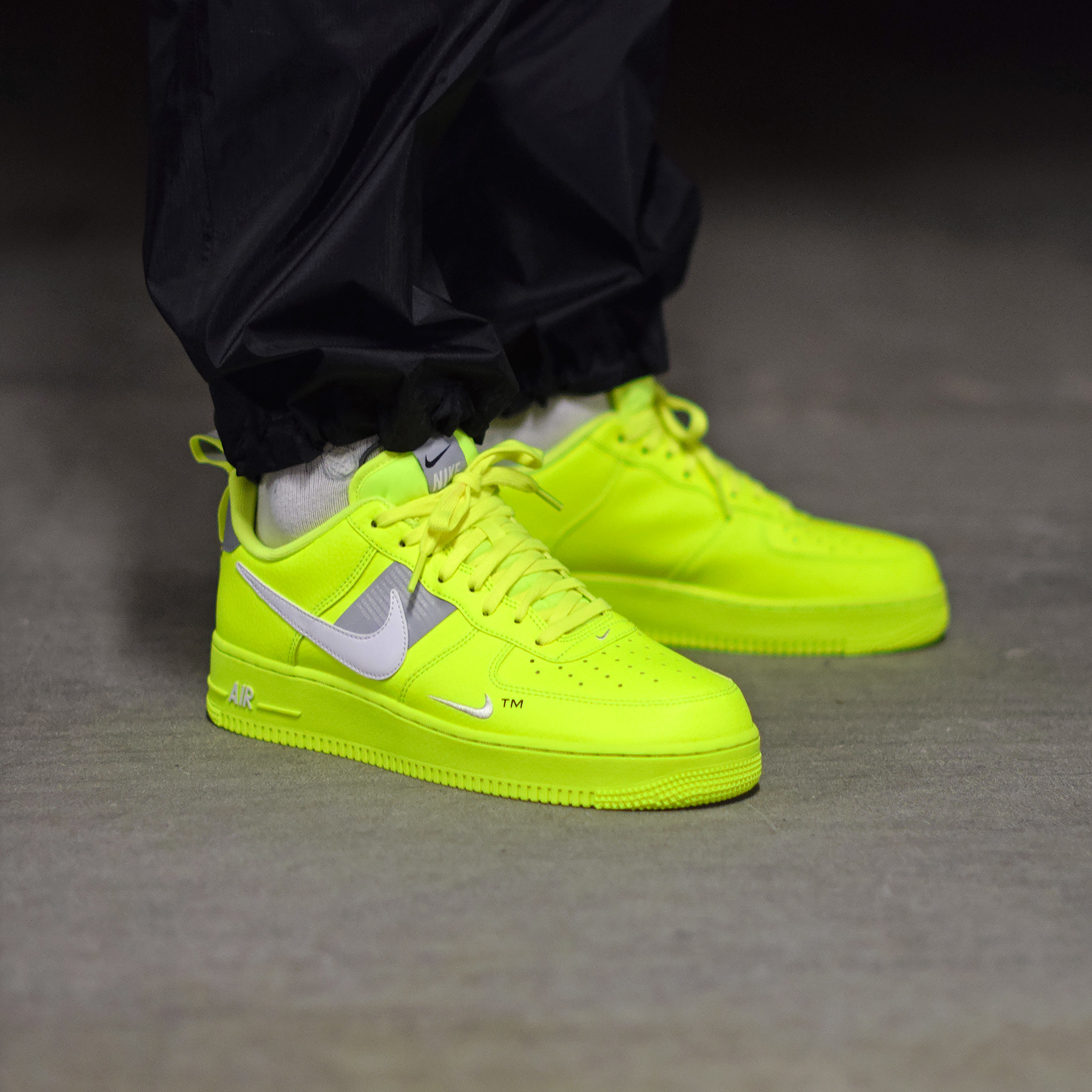 Look Out For The Nike Air Force 1 07 LV8 Utility Volt
