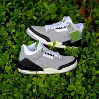 separation shoes 1ad0a 5e4cf Air Jordan 3 Chlorophyll
