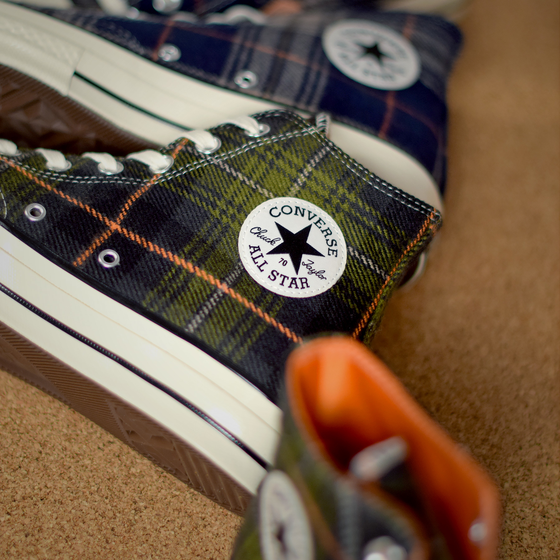 838d20634a2b Converse Chuck Taylor All Star 70 High « Plaid Pack »