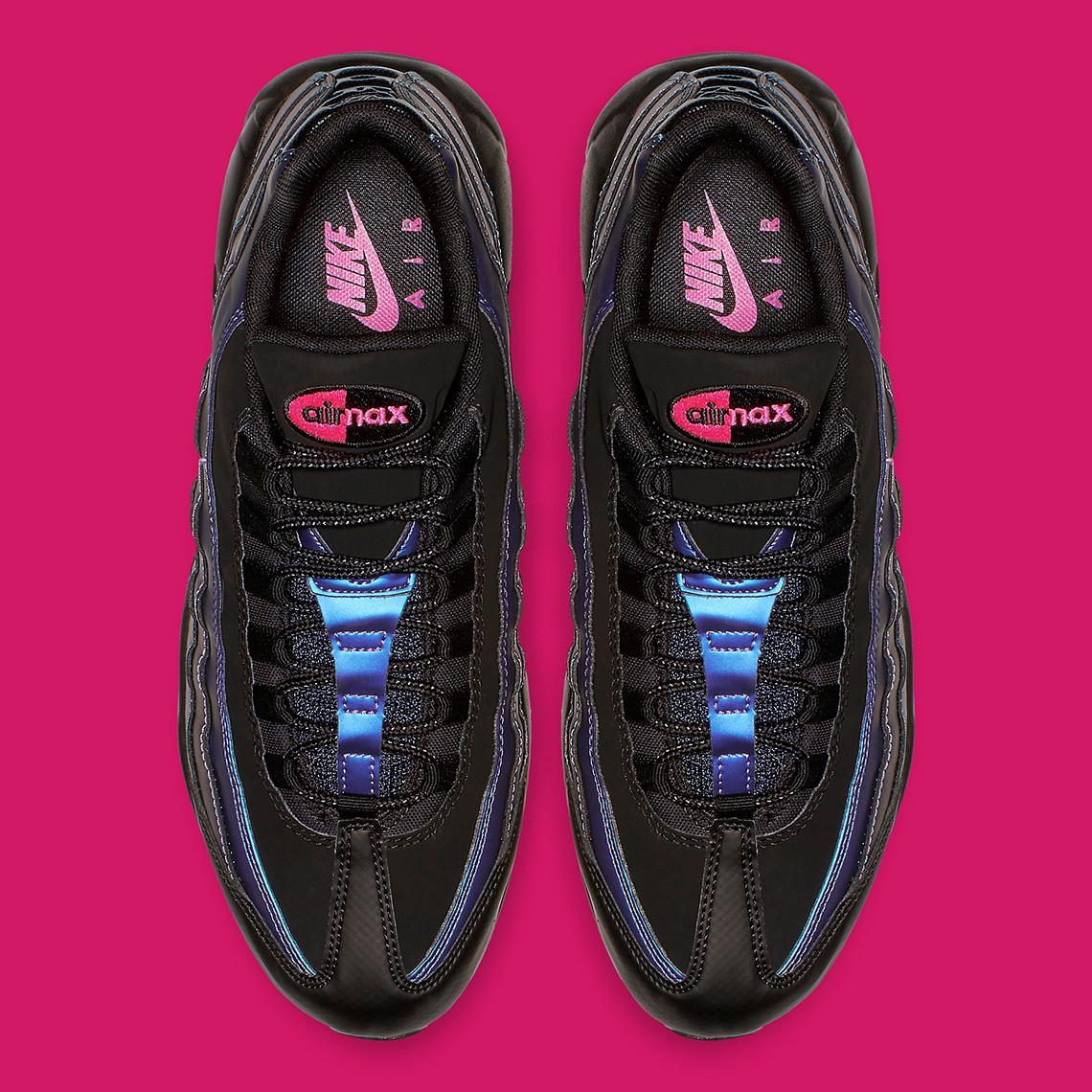 Nike Air Max 95 Premium BlackLaser Fuchsia – Feature