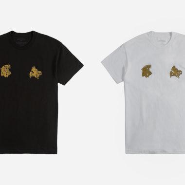 Nike x maharishi Tigers & Dragons t-shirt