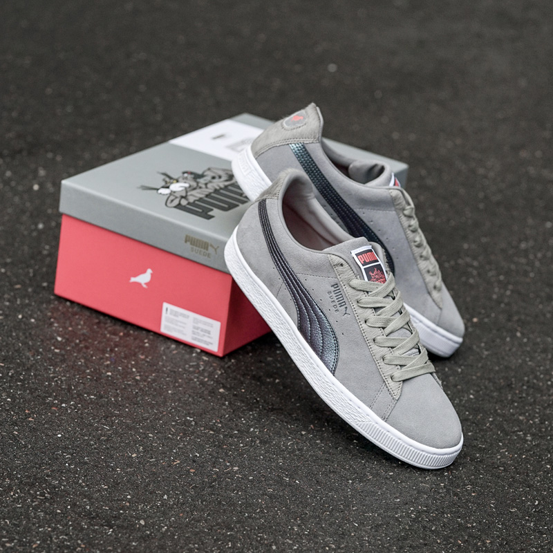 Gray Staple Puma Pigeon Sneakers Frost X Suede wU47q a39418a7492a8