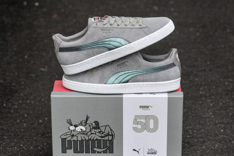 Puma Suede x Staples Pigeon
