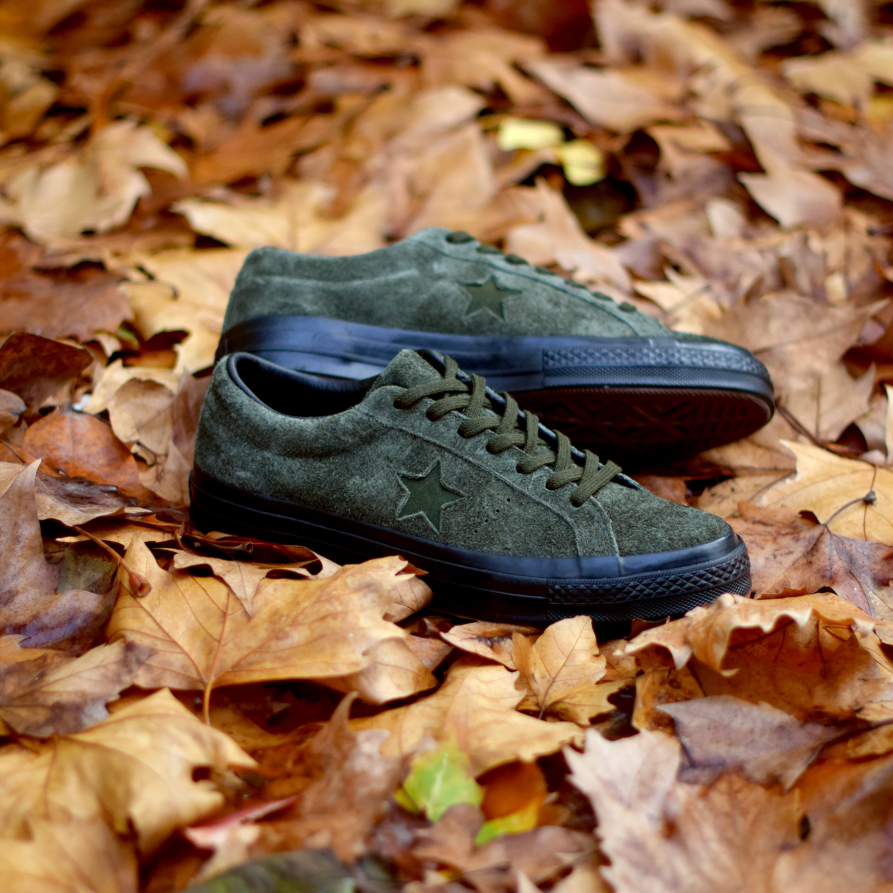 Pack Converse One Star Ox « Hairy Suede Black Sole »