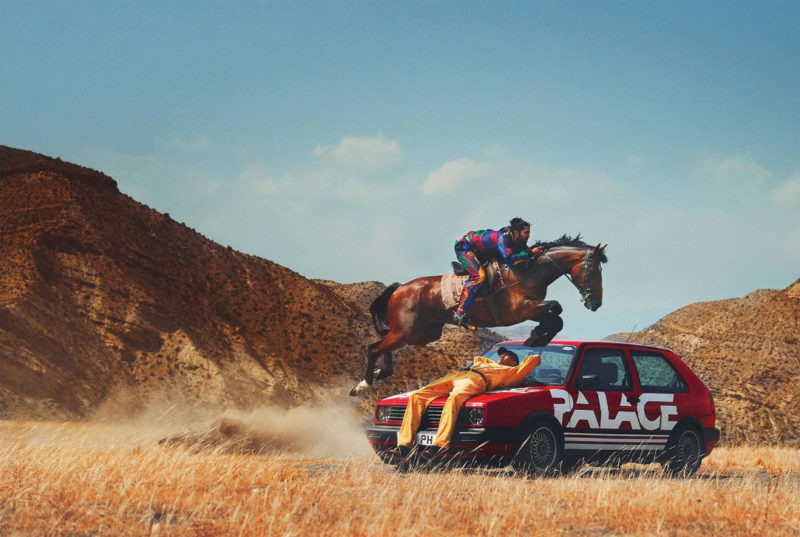 Photo lookbook Palace x Ralph Lauren