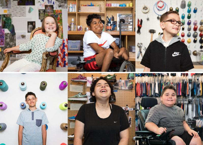 Enfants du programme Doernbecher 2018