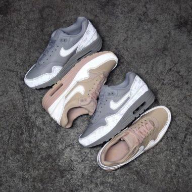 Nike Air Max 1 Premium Leather Ale Brown
