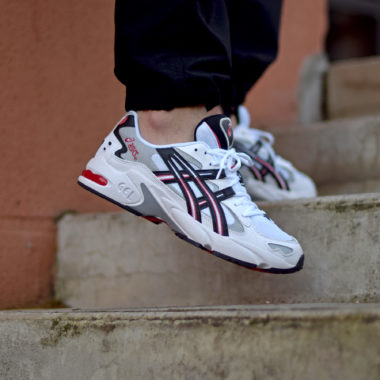 Asics Gel Kayano 5 OG White/Red