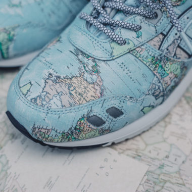 Atmos x Asics Gel Lyte 3 World Map