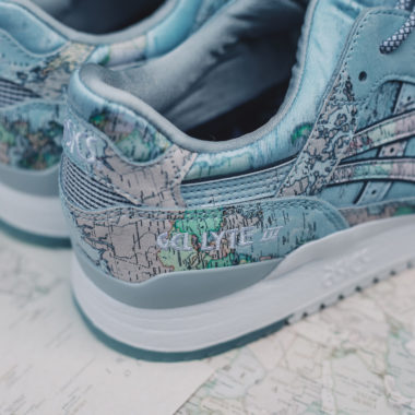 Atmos x Asics Gel Lyte 3 World Map