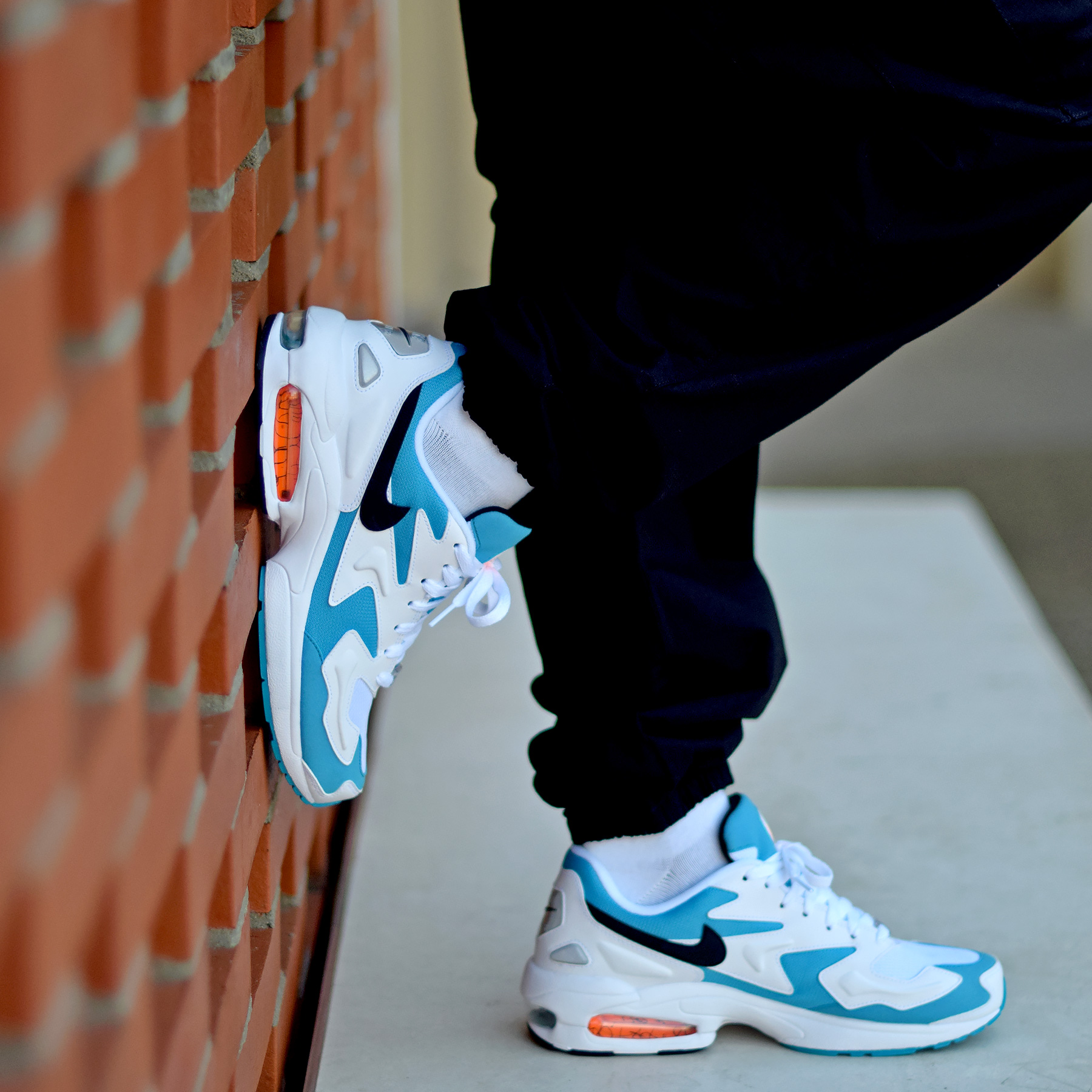 air max 2 light blue femme