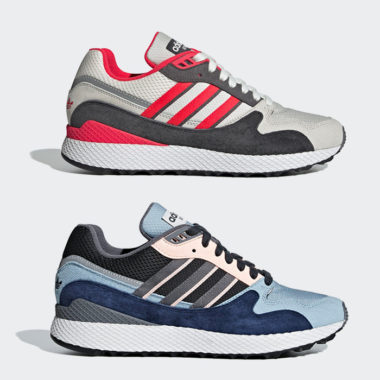 Pack adidas Ultra Tech Blue & Red