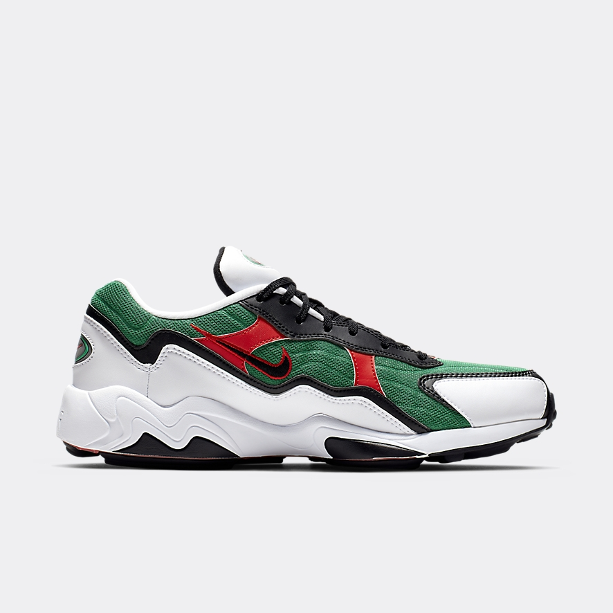 best website bbdcb aa0ed Nike Zoom Alpha White Green Red