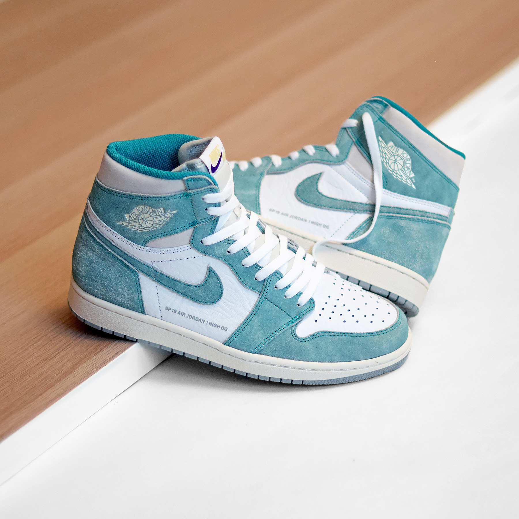 wholesale dealer low price sale latest Air Jordan 1 Retro High OG « Turbo Green »