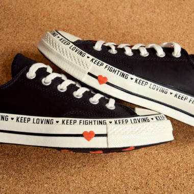 converse keep fighting keep loving