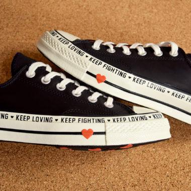 converse keep fighting keep loving