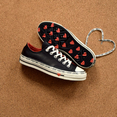 converse chuck keep fighting keep loving