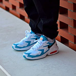 Nike Air Max 2 Light White Blue Lagoon