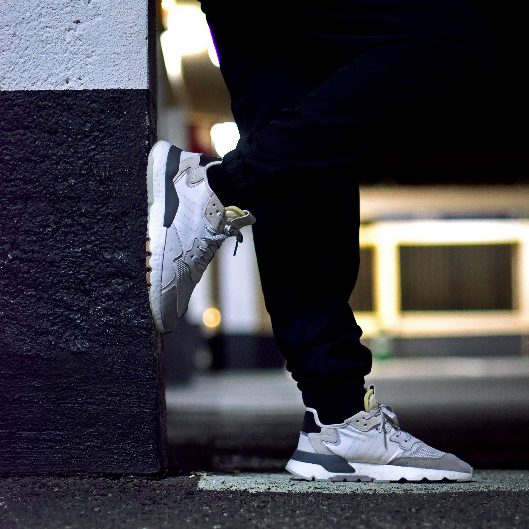 adidas nite jogger homme noir