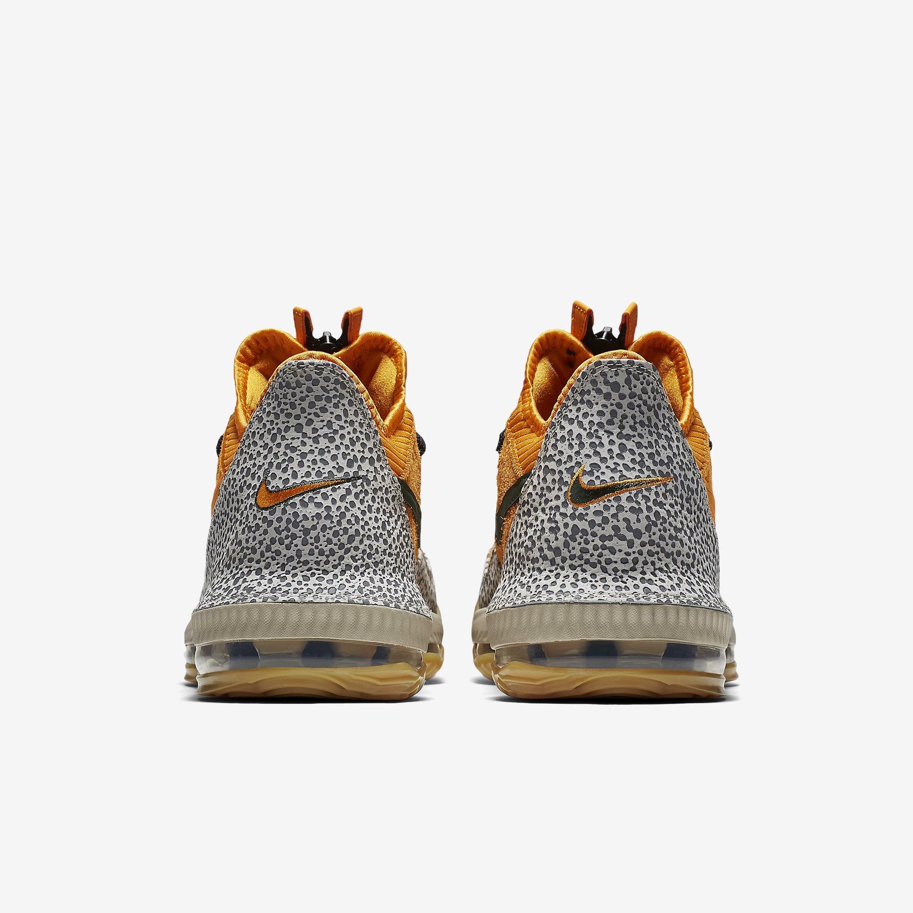 b8e98001883 Une réinterpréation de la Nike Lebron 16 avec le coloris de la Nike Air Max  1 Safari d Atmos.
