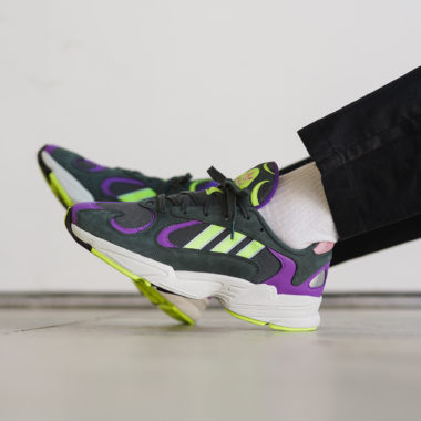 adidas Yung-1 Legend Ivy/Hires Yellow