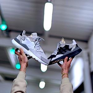 adidas Nite Jogger Grey Pack