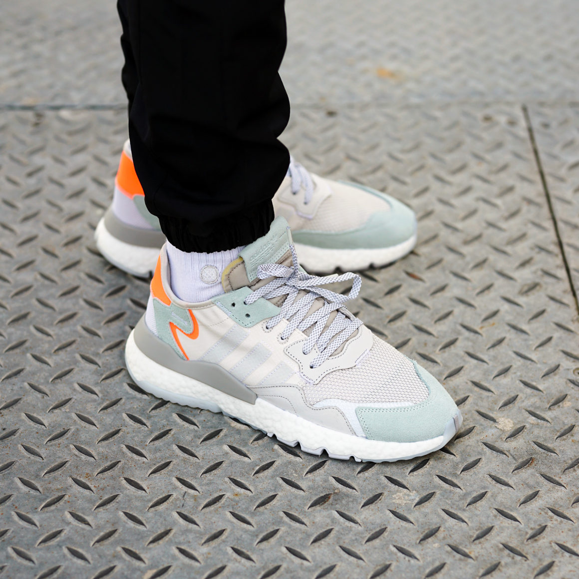 adidas Nite Jogger Boost Raw White/Grey One
