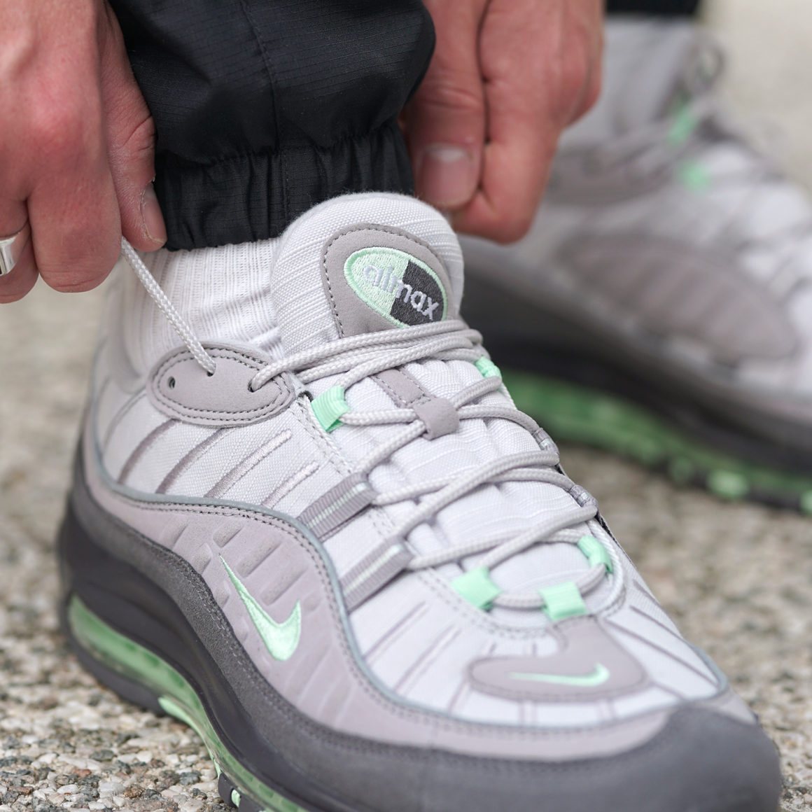 Nike Air Max 98 Vast GreyFresh Mint