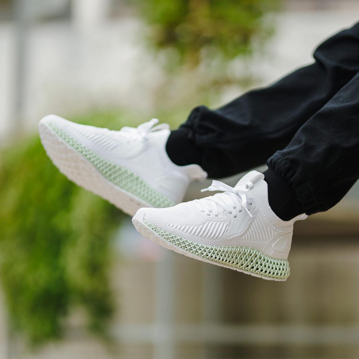 adidas Alphaedge 4D White/Carbon