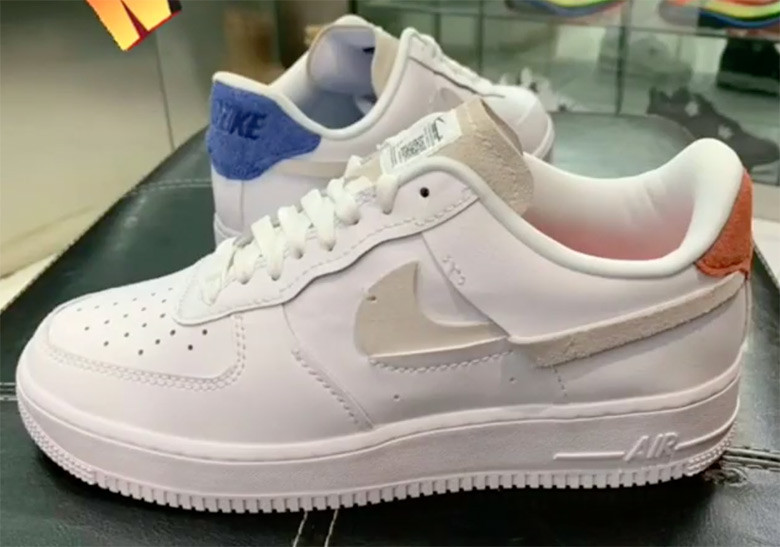 pas mal a7e8e bd32a Nike Air Force 1 Inside Out - Sneakers.fr