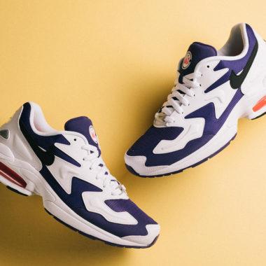 new york 20220 d7ffe Nike Air Max2 Light White/Purple OG