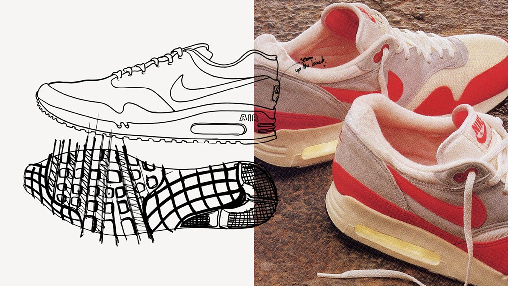 Nike Air Max 1 Sketch
