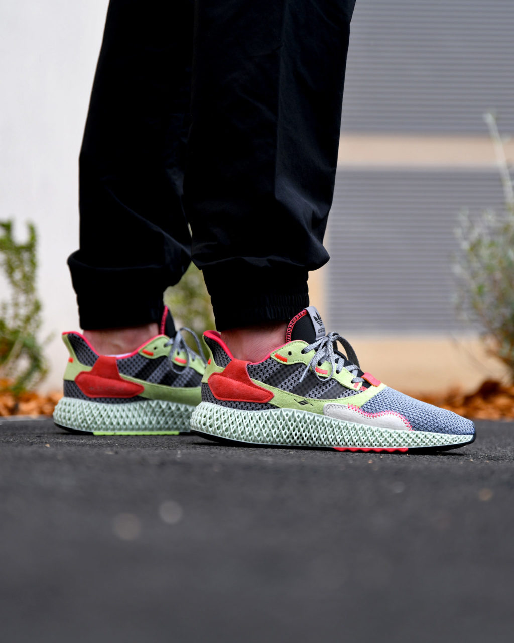 adidas ZX4000 4D Grey Three/Core Black