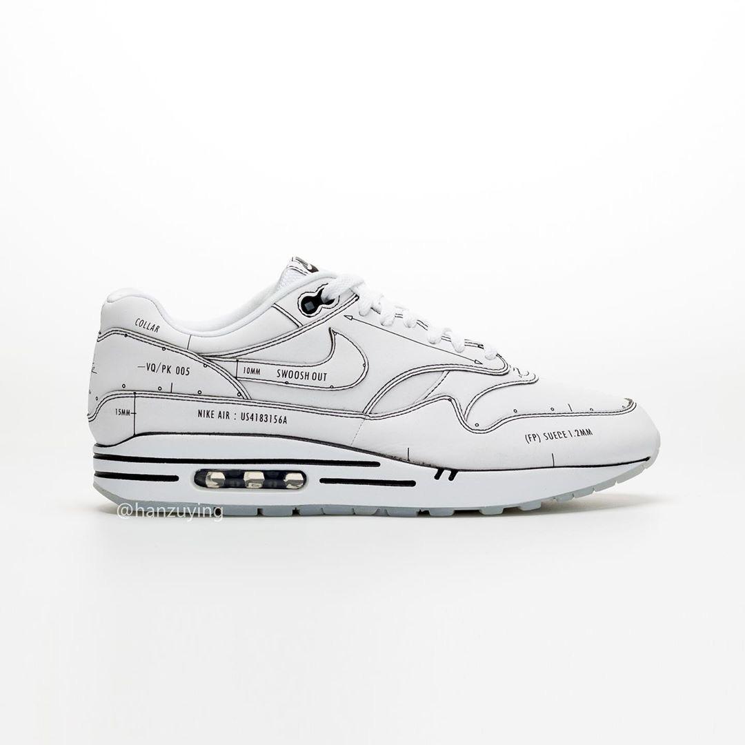 Nike Air Max 1 Schematic CJ4286 100