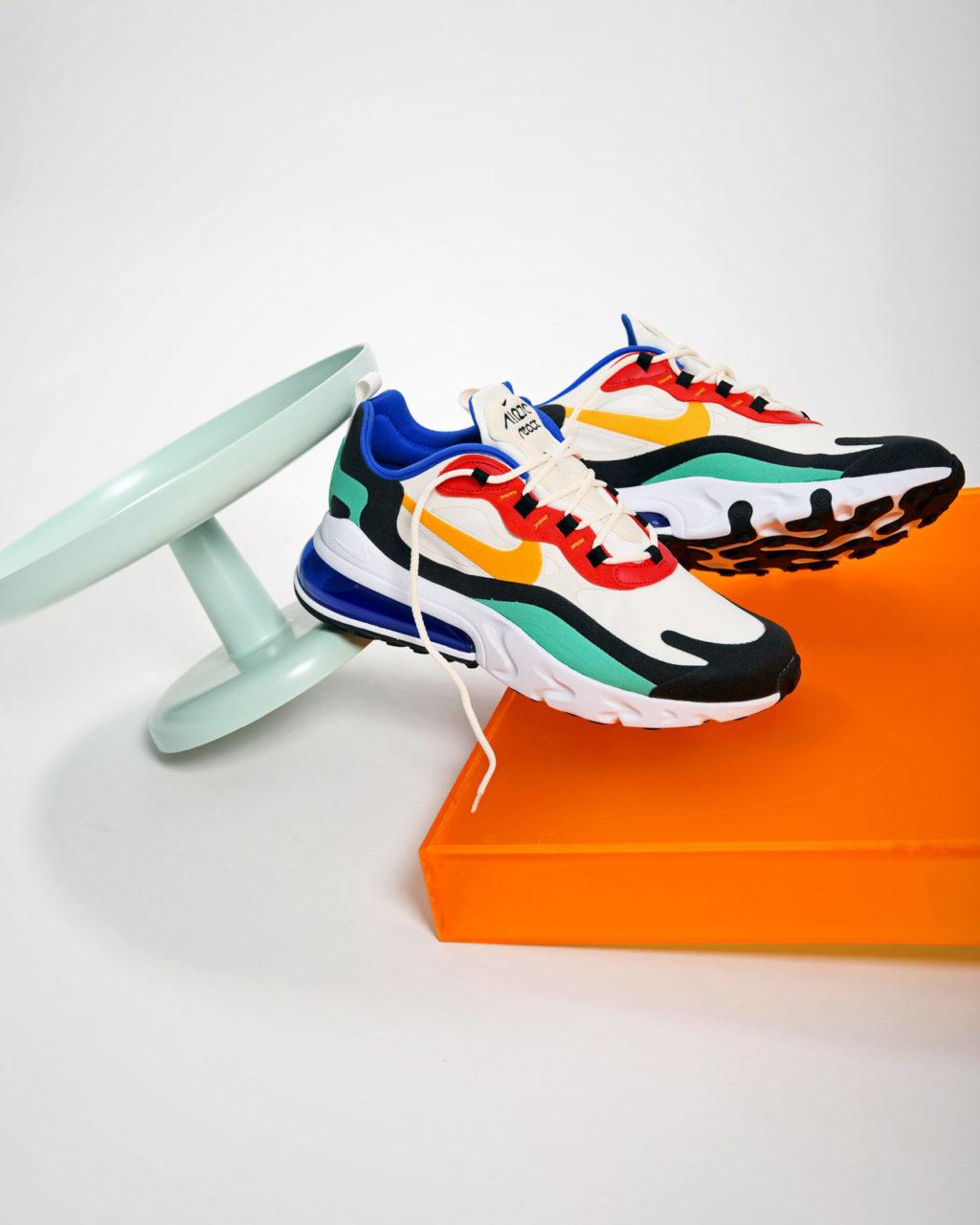 Nike Air Max 270 React Bauhaus Edition