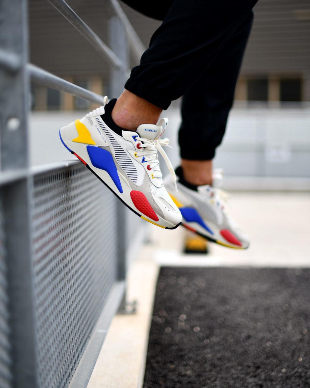Puma RS X Colour Theory, inspiration Mondrian