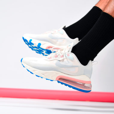 Nike Air Max 270 React Ghost Aqua