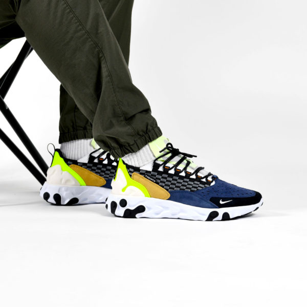 Nike React Sertu Black White Volt